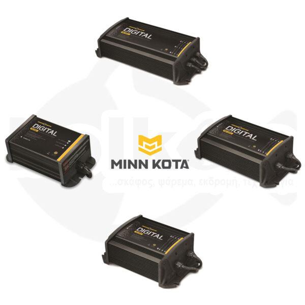 Φορτιστές Μπαταριών Σταθεροί MINN KOTA On-Board Digital Chargers