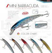 Χρωματολόγιο Τεχνητό DTD MINI Barracuda 95