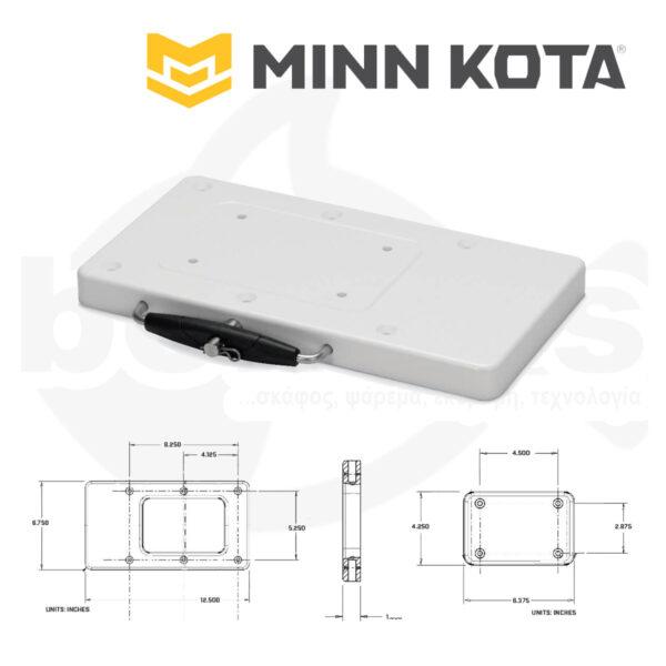 Βάση Ταχείας Απελευθέρωση Ηλεκτρικού Κινητήρα RTA-17 MINN KOTA