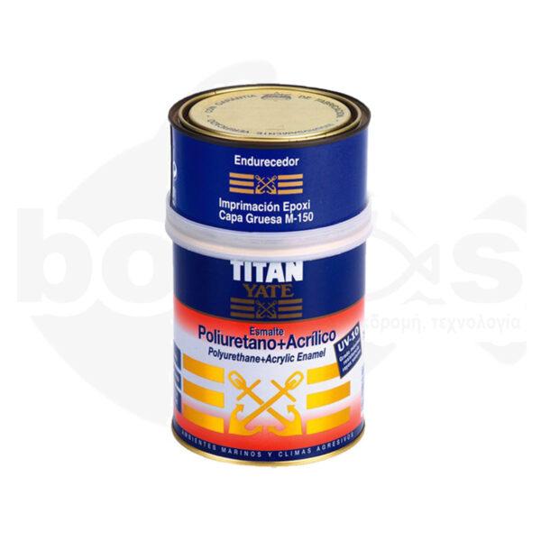 Χρώμα Θαλάσσης 2 Συστατικών TITAN Esmalte Poliuretano+Acrilico