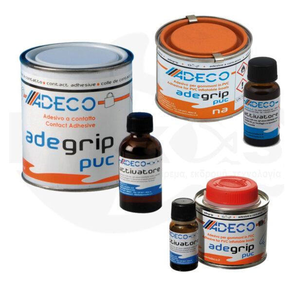 Κόλλα 2 Συστατικών Adegrip PVC ADECO