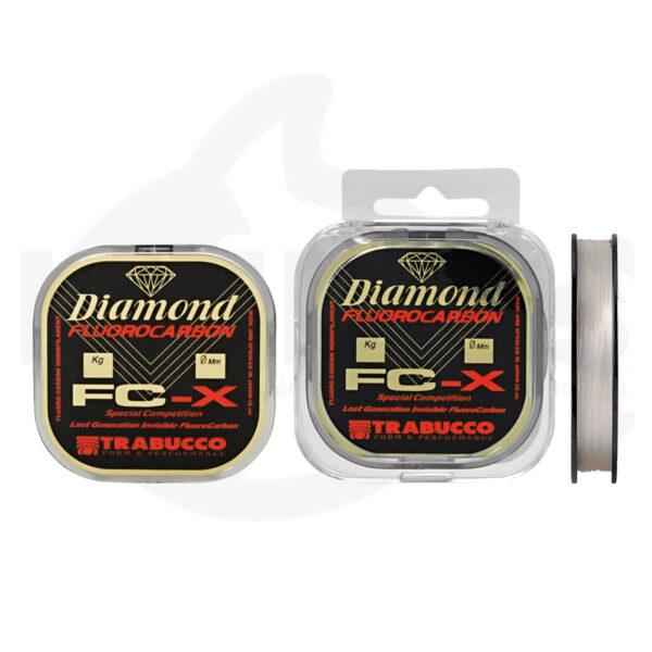 Πετονιά DIAMOND FC-X Fluorocarbon TRABUCCO