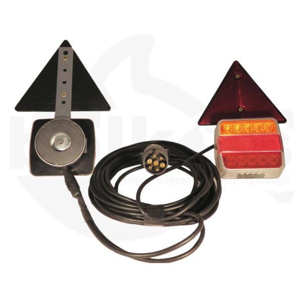 Φώτα Στεγανά LED με Μαγνήτη για Τρέιλερ Osculati