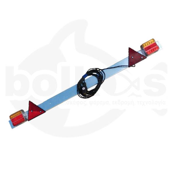 Φώτα Τρέιλερ Στεγανά LED σε Μπάρα Ρυθμιζόμενη Osculati