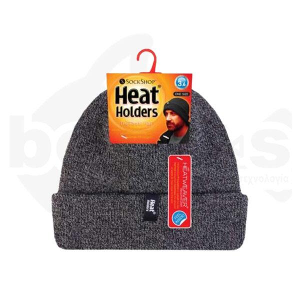 Σκούφος Ανδρικός Με Γύρισμα Heat Holders