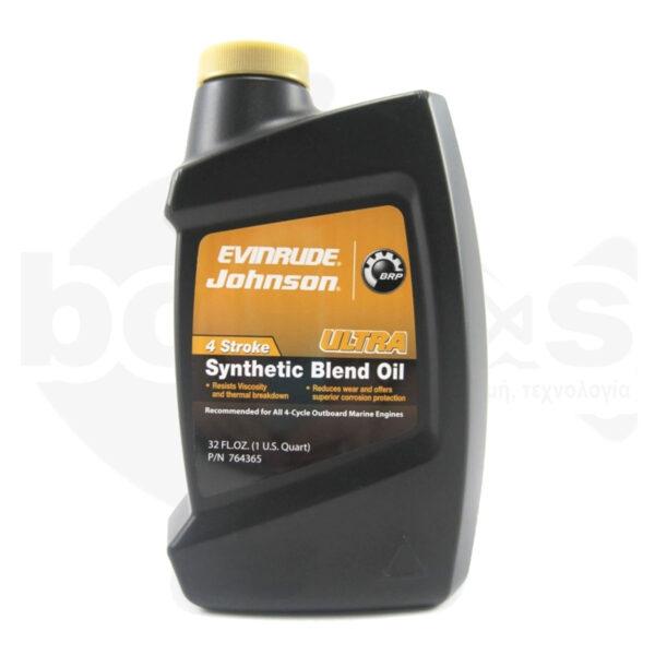 Λάδι Synthetic 4T SAE 5W-40 Johnson Evinrude